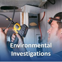 Services-environmental investigations