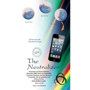 Aulterra RF neutralizer for mobile phone or cell phone 3 pack