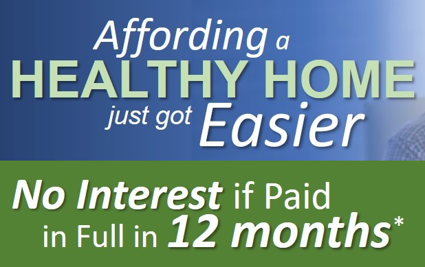 Dallas Healthy Home Indoor Air Quality Testing Financing No Interest